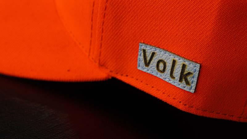 Boné Volk Culture Laranja Neon Aba Curva  - Harpia Moda - Moda Masculina & Acessórios