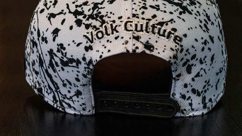 Boné Volk Culture Splash Aba Curva Branco  - Harpia Moda - Moda Masculina & Acessórios