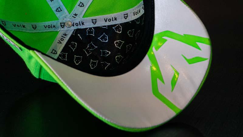 Boné Volk Culture Verde Neon Aba Curva  - Harpia Moda - Moda Masculina & Acessórios