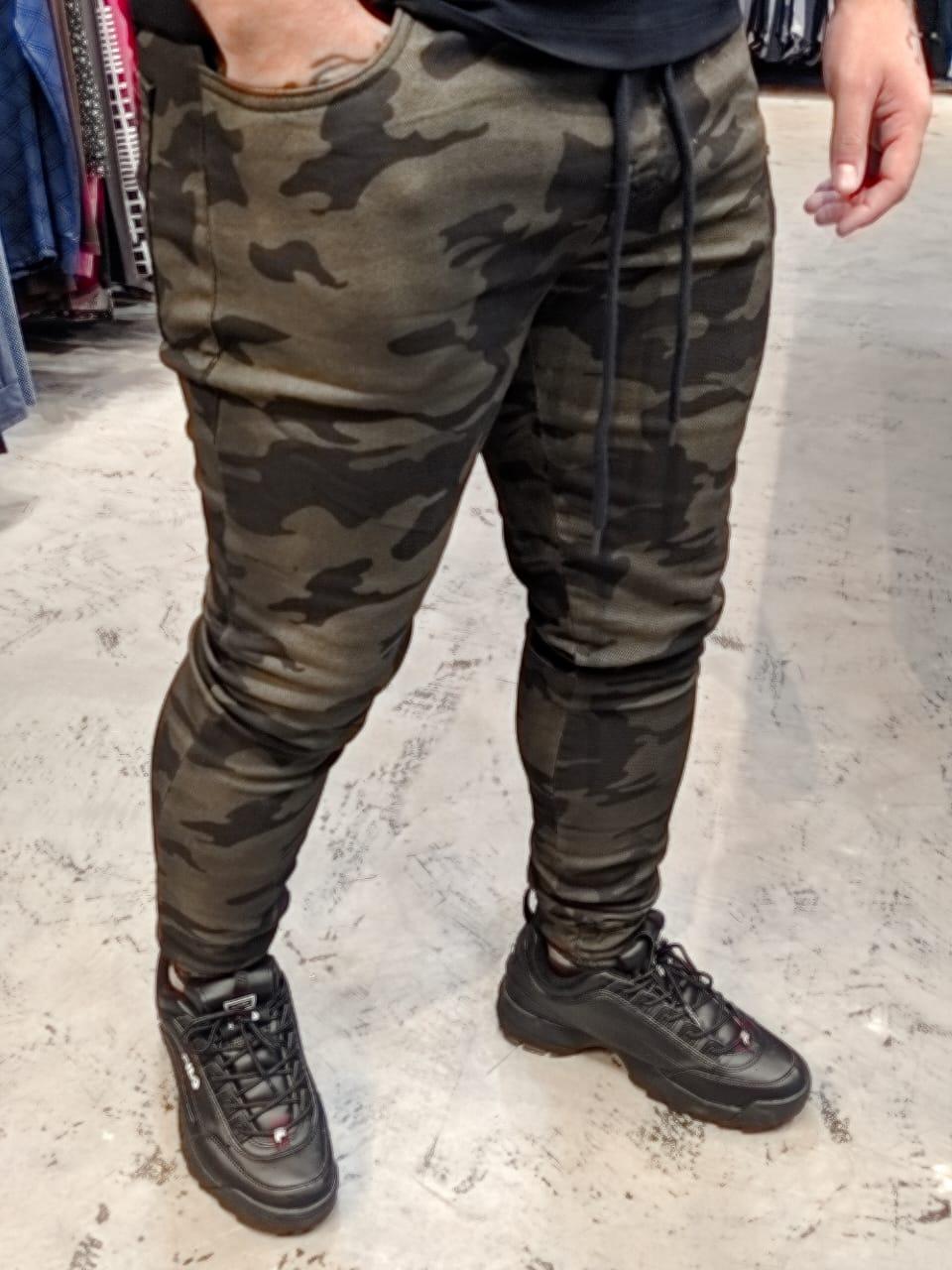 Calça Austin Jogger Camuflada Prime  - Harpia Moda - Moda Masculina & Acessórios