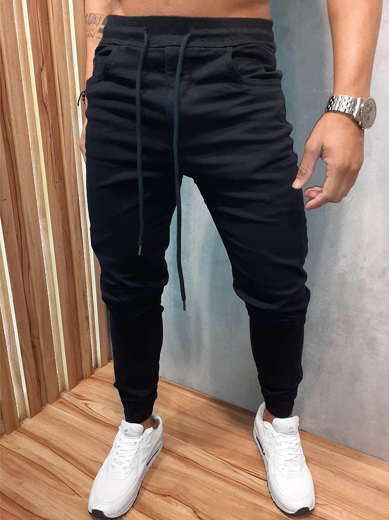 Calça Austin Jogger Preta Prime  - Harpia Moda - Moda Masculina & Acessórios
