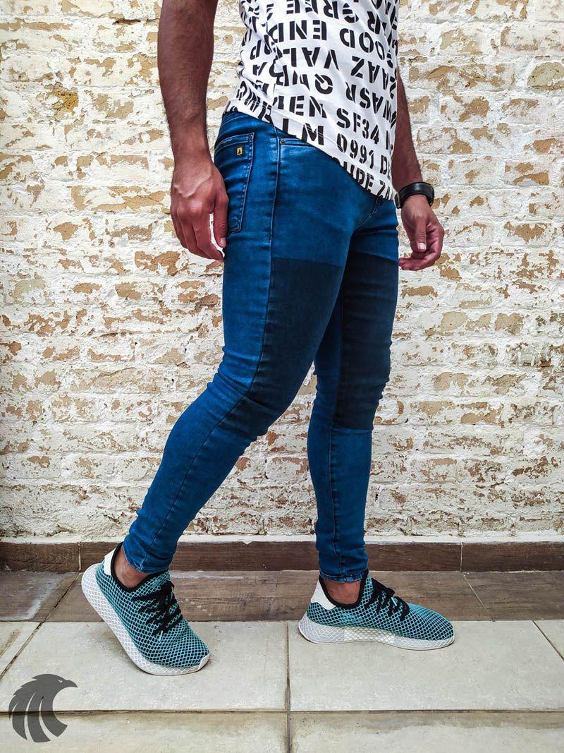 Calça Austin Skinny Black Belt  - Harpia Moda - Moda Masculina & Acessórios