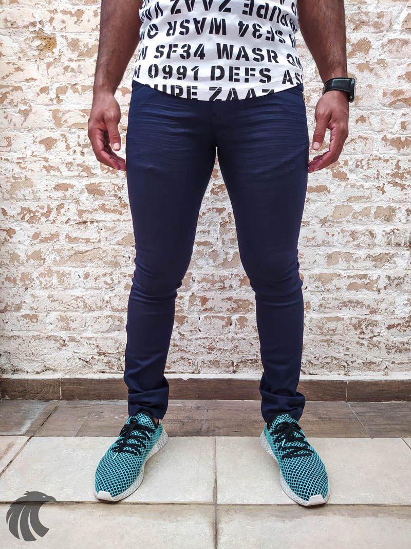 Calça Rock Soda Sarja Blue Deluxe  - Harpia Moda - Moda Masculina & Acessórios