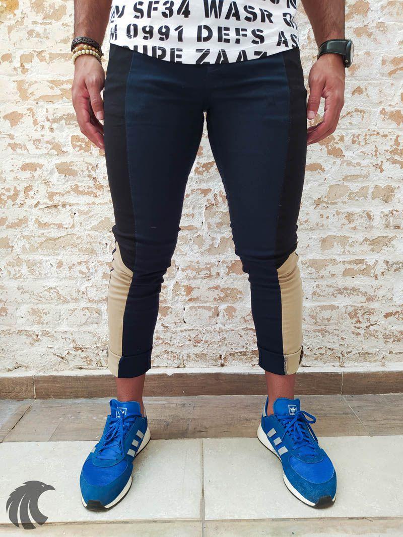 Calça Austin Skinny Blue Line Plus  - Harpia Moda - Moda Masculina & Acessórios