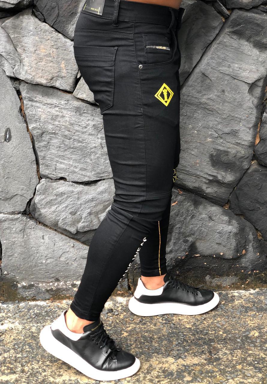 Calça Codi Skinny Preta Jeans Wear  - Harpia Moda - Moda Masculina & Acessórios