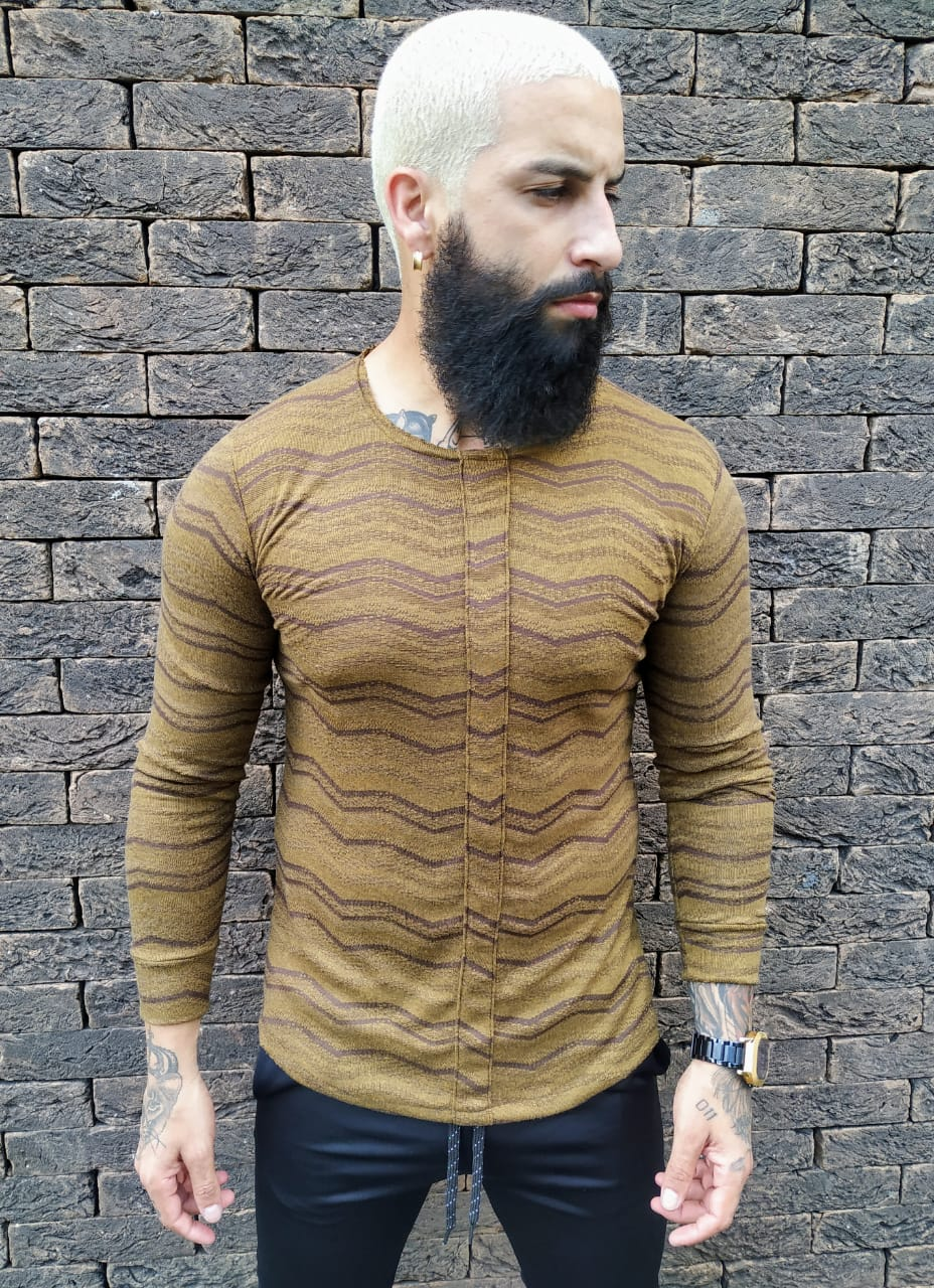 Camisa Manga Longa Exalt Green  - Harpia Moda - Moda Masculina & Acessórios