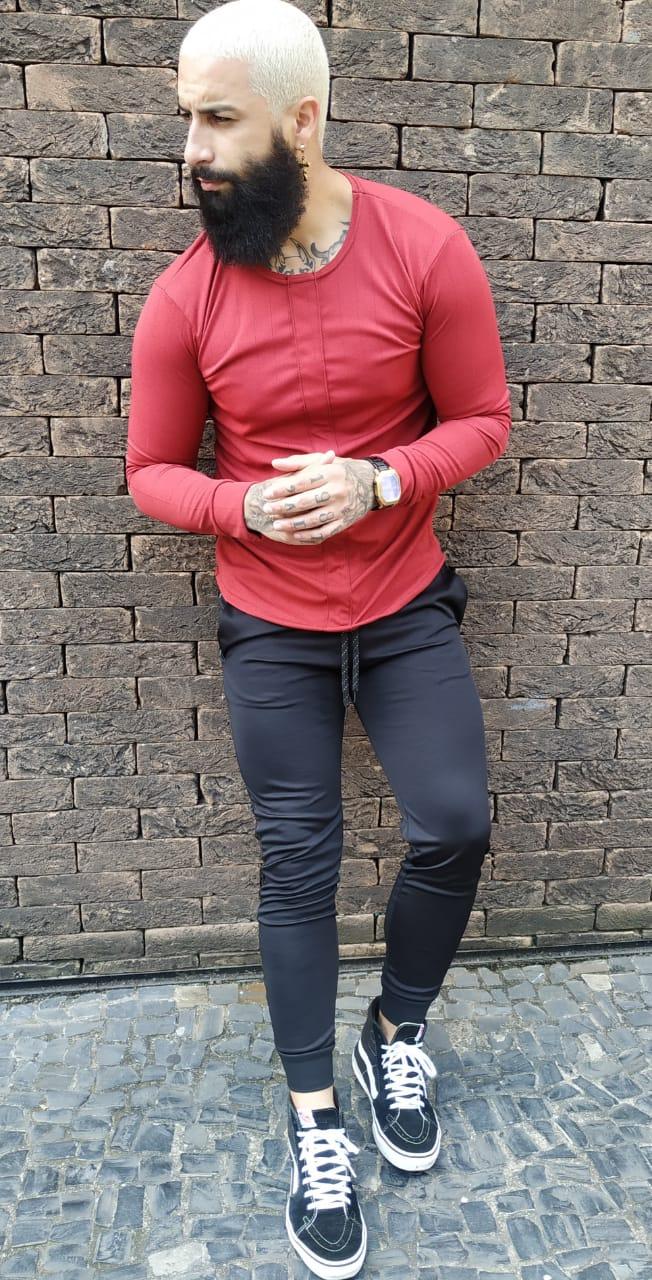Camisa Manga Longa Exalt Red  - Harpia Moda - Moda Masculina & Acessórios