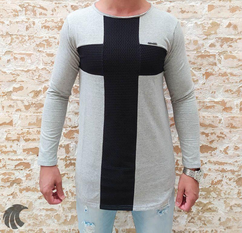 Camisa Manga Longa Kawippi Cruz  - Harpia Moda - Moda Masculina & Acessórios
