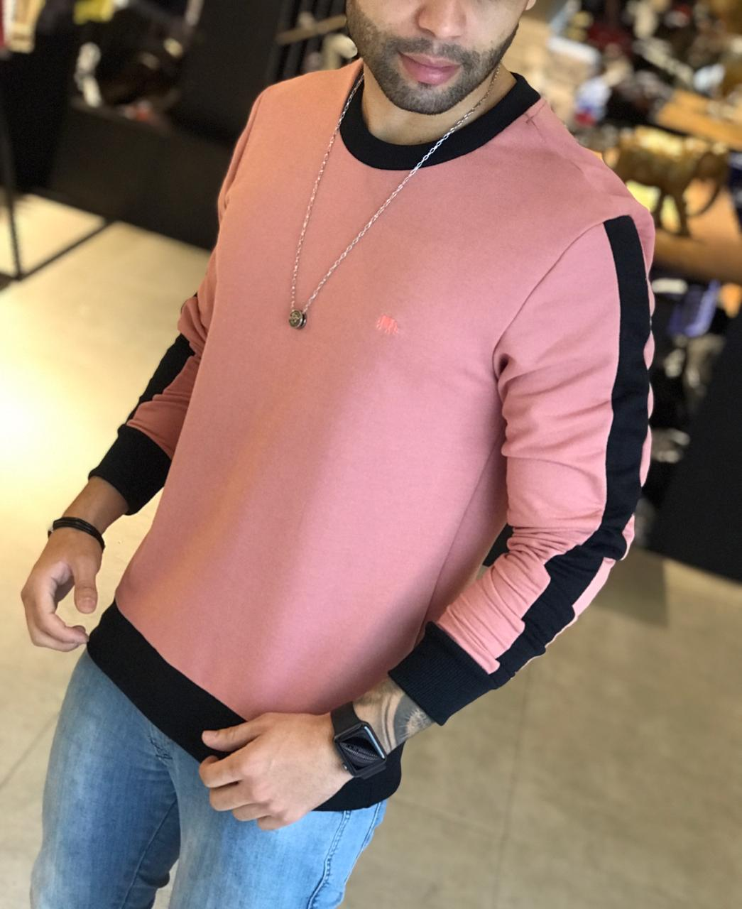 Camisa Manga Longa M Artt Salmão  - Harpia Moda - Moda Masculina & Acessórios