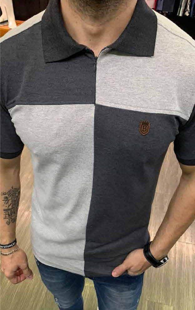 Camisa Polo Black West Evollet Mescla  - Harpia Moda - Moda Masculina & Acessórios