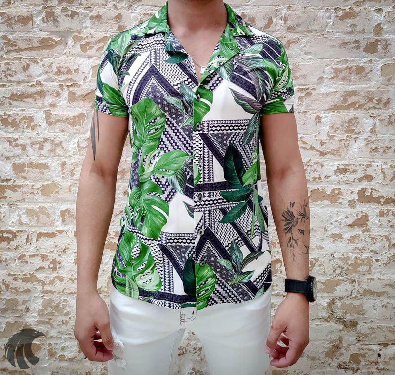 Camisa Starpolis Green Sheets Deluxe  - Harpia Moda - Moda Masculina & Acessórios