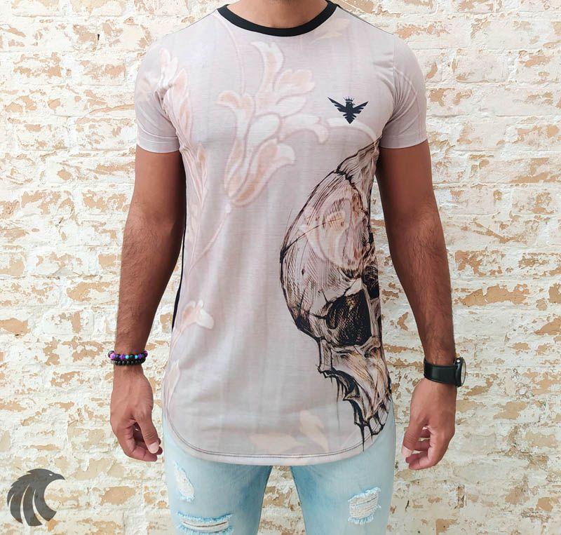 Camiseta Evoque Black Blackkull Reflection  - Harpia Moda - Moda Masculina & Acessórios