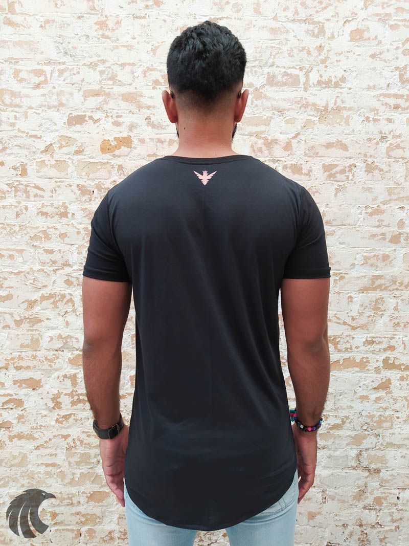 Camiseta Evoque Black Blackkull Several Tracks  - Harpia Moda - Moda Masculina & Acessórios