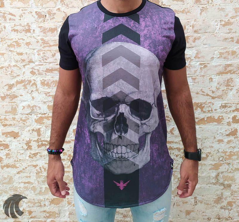 Camiseta Evoque Black Indication Arrows  - Harpia Moda - Moda Masculina & Acessórios
