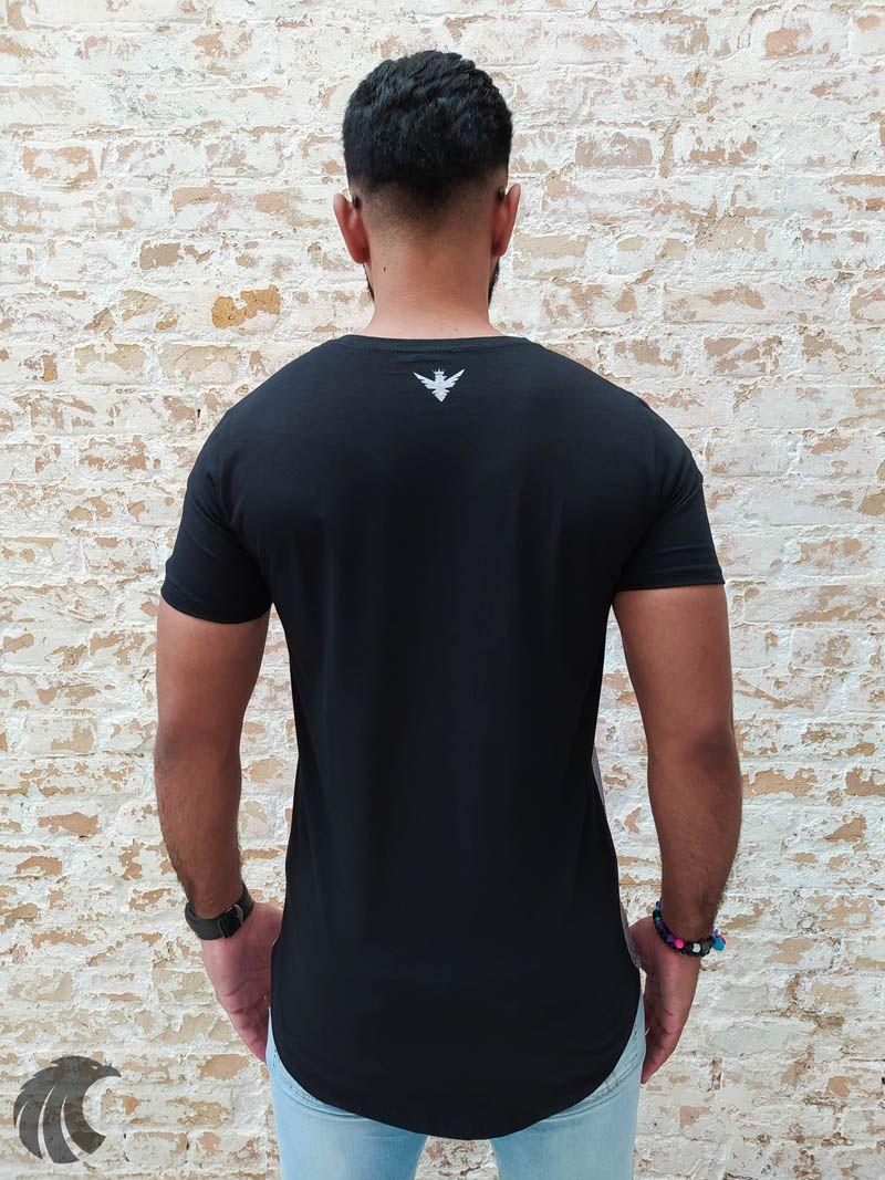 Camiseta Evoque Black Skull Colors  - Harpia Moda - Moda Masculina & Acessórios