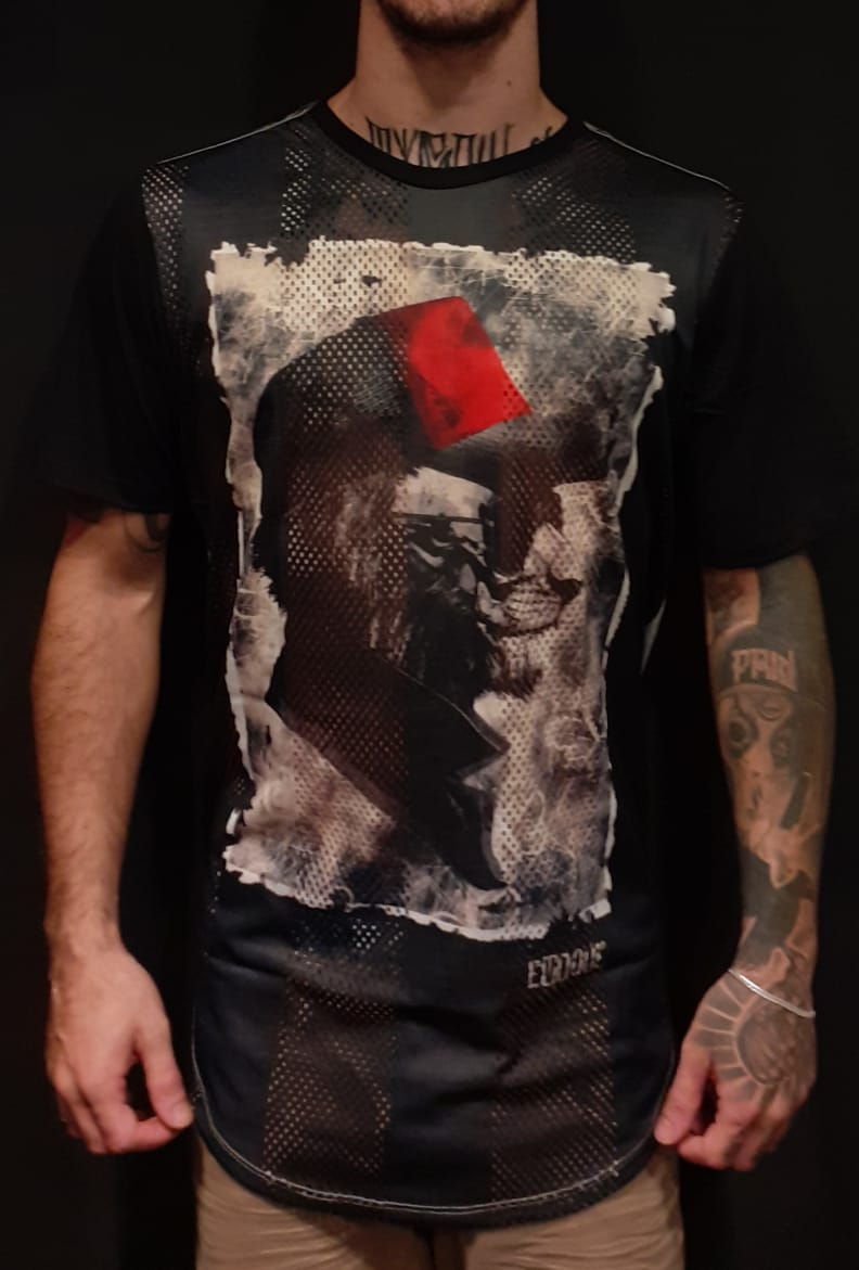 Camiseta Evoque Black Cat  - Harpia Moda - Moda Masculina & Acessórios