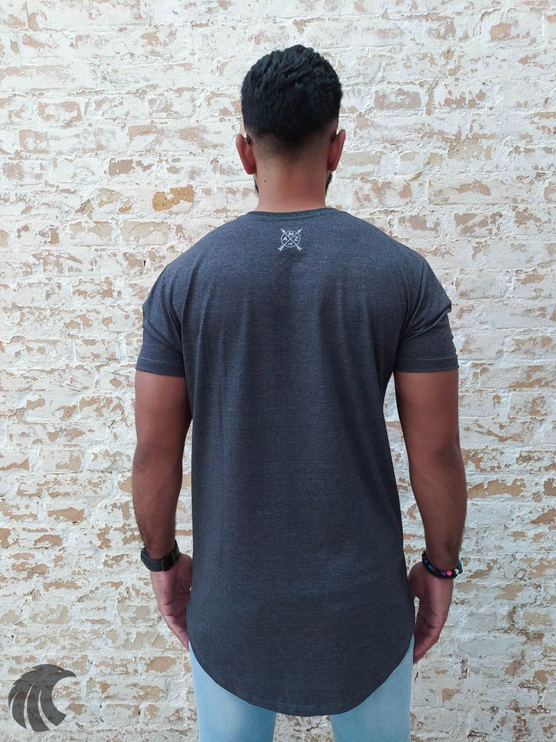 Camiseta Evoque Grey City Skull  - Harpia Moda - Moda Masculina & Acessórios