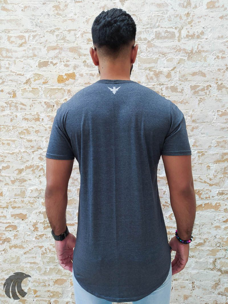 Camiseta Evoque Grey Labyrinth Brand  - Harpia Moda - Moda Masculina & Acessórios