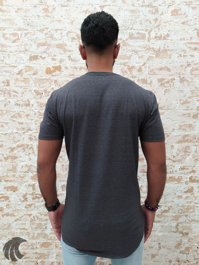 Camiseta Evoque Grey Live Love Life  - Harpia Moda - Moda Masculina & Acessórios