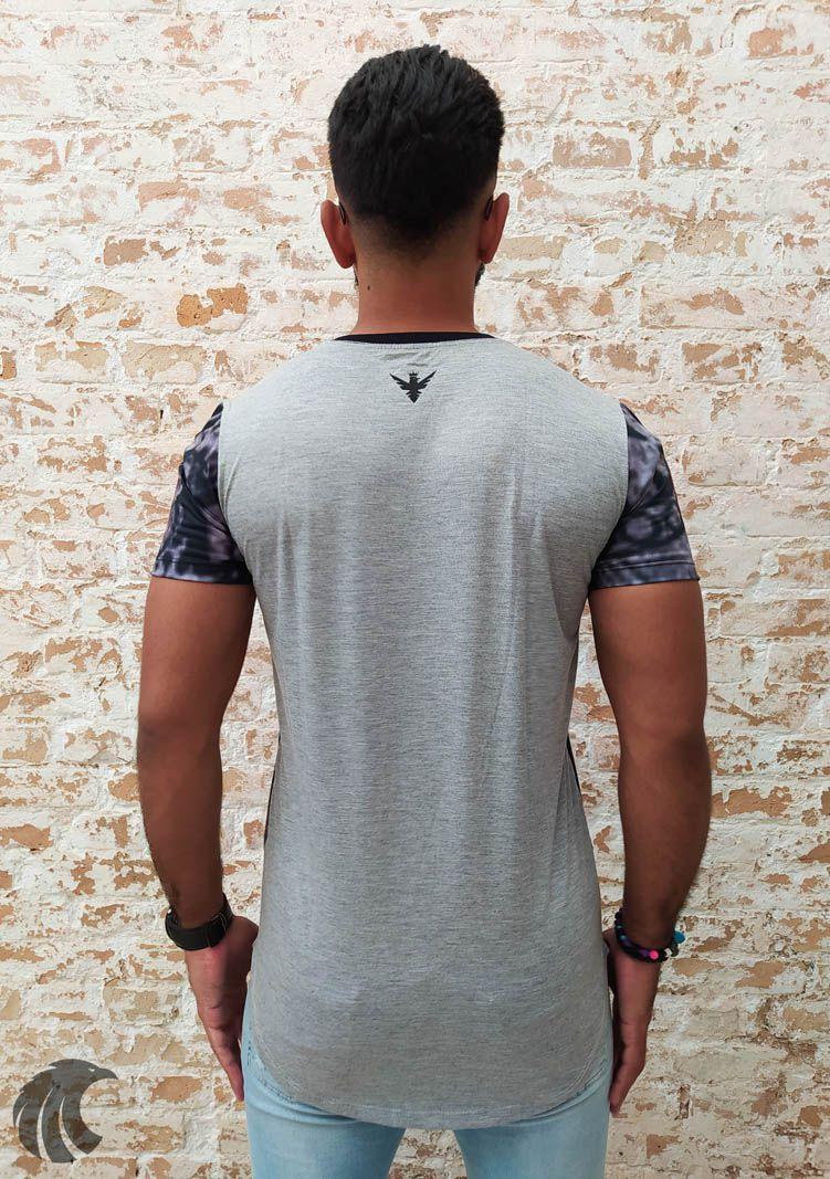 Camiseta Evoque Grey Woman Style  - Harpia Moda - Moda Masculina & Acessórios
