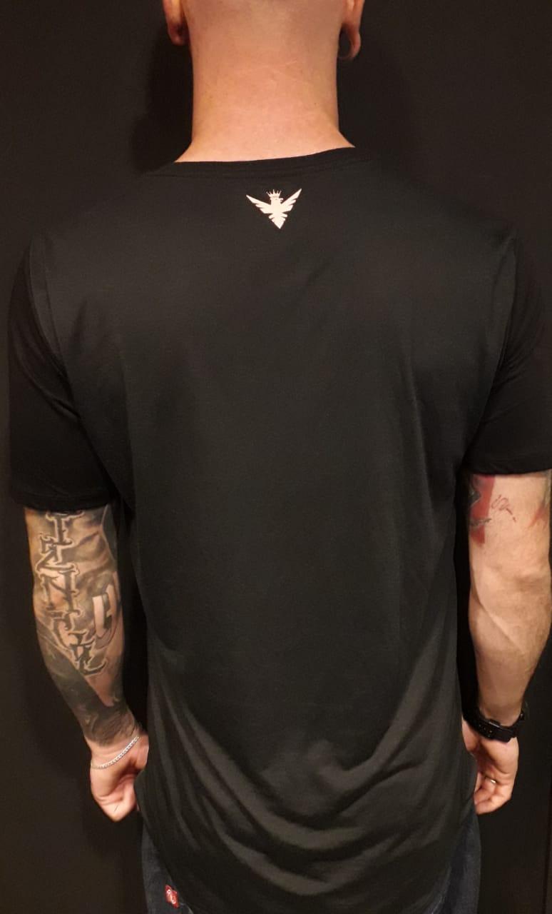 Camiseta Evoque Long  Arrow  - Harpia Moda - Moda Masculina & Acessórios