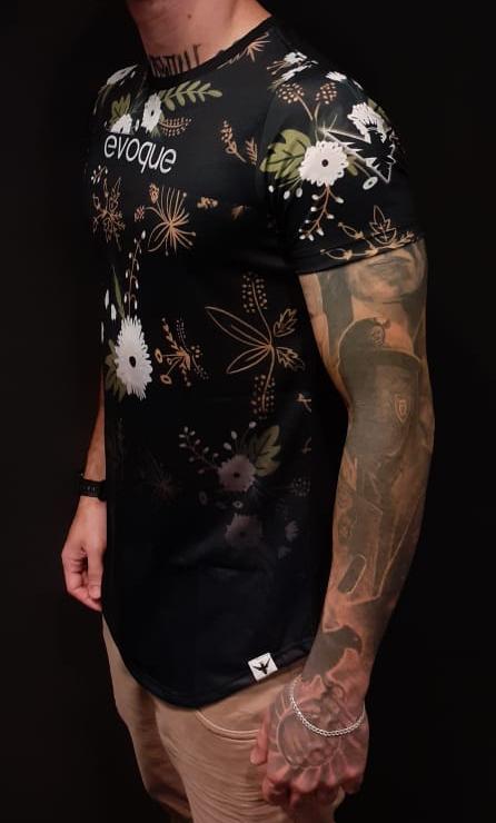 Camiseta Evoque Long Natureza  - Harpia Moda - Moda Masculina & Acessórios