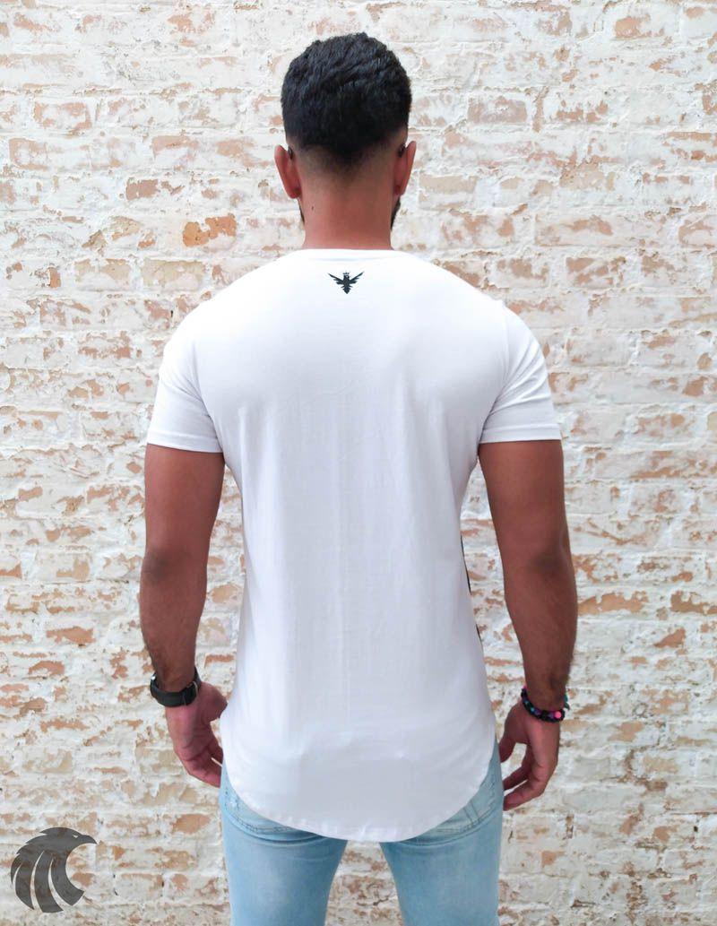 Camiseta Evoque White Lion  - Harpia Moda - Moda Masculina & Acessórios