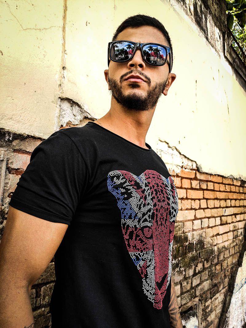 Camiseta FB Clothing Tiger Black  - Harpia Moda - Moda Masculina & Acessórios