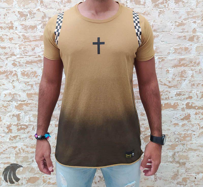 Camiseta John Jones Mustard Cross  - Harpia Moda - Moda Masculina & Acessórios