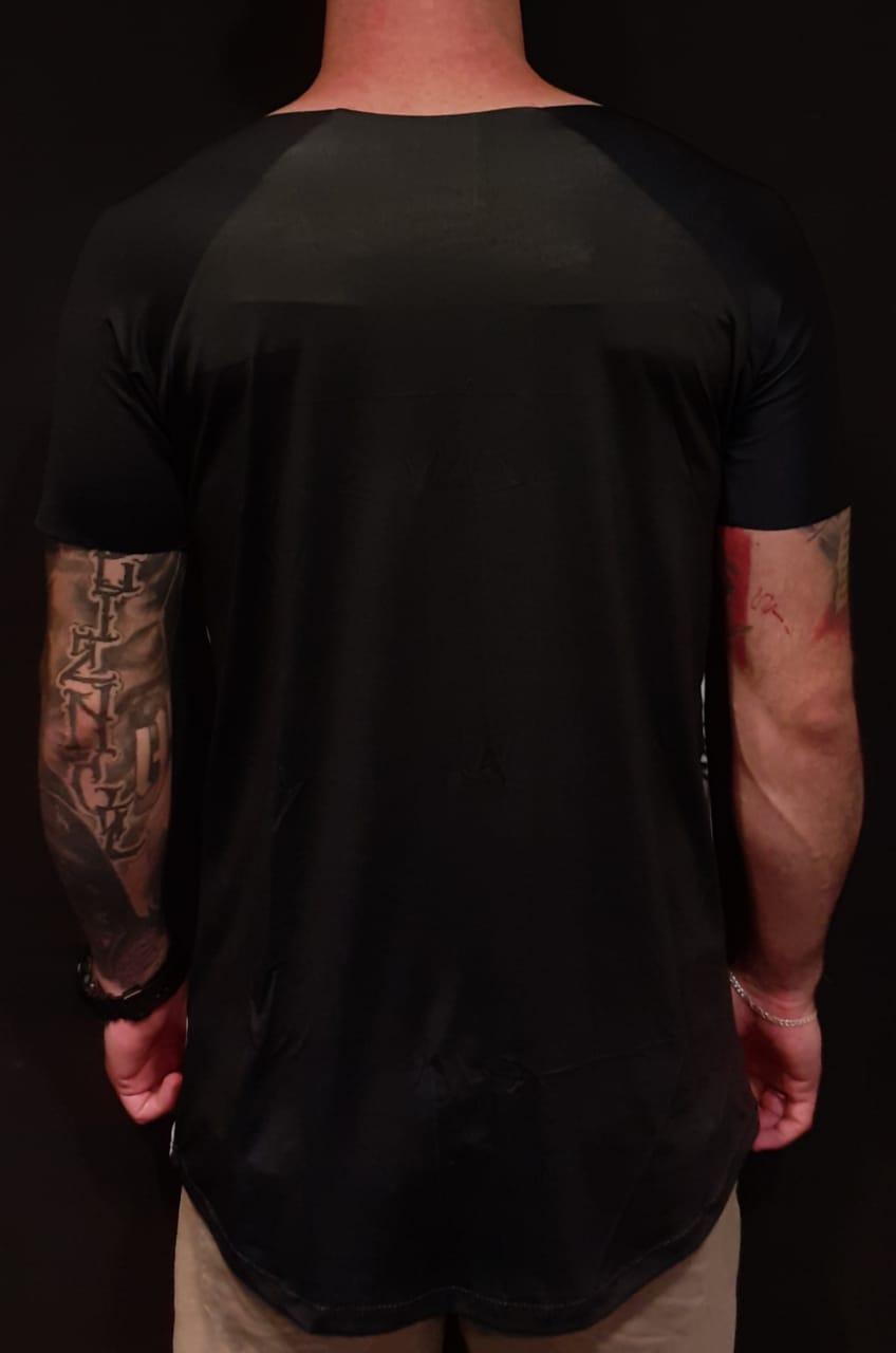 Camiseta John Rocket  Gangster Black  - Harpia Moda - Moda Masculina & Acessórios