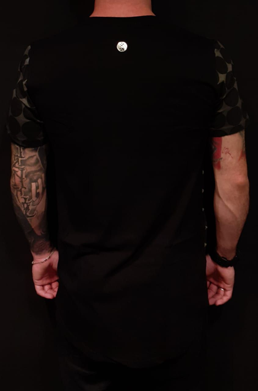 Camiseta King Joy Long Circles  - Harpia Moda - Moda Masculina & Acessórios