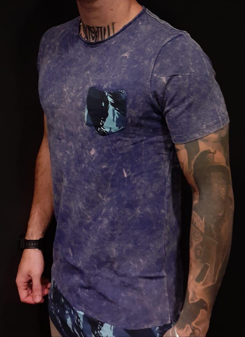 Camiseta King Joy Long Quartel  - Harpia Moda - Moda Masculina & Acessórios
