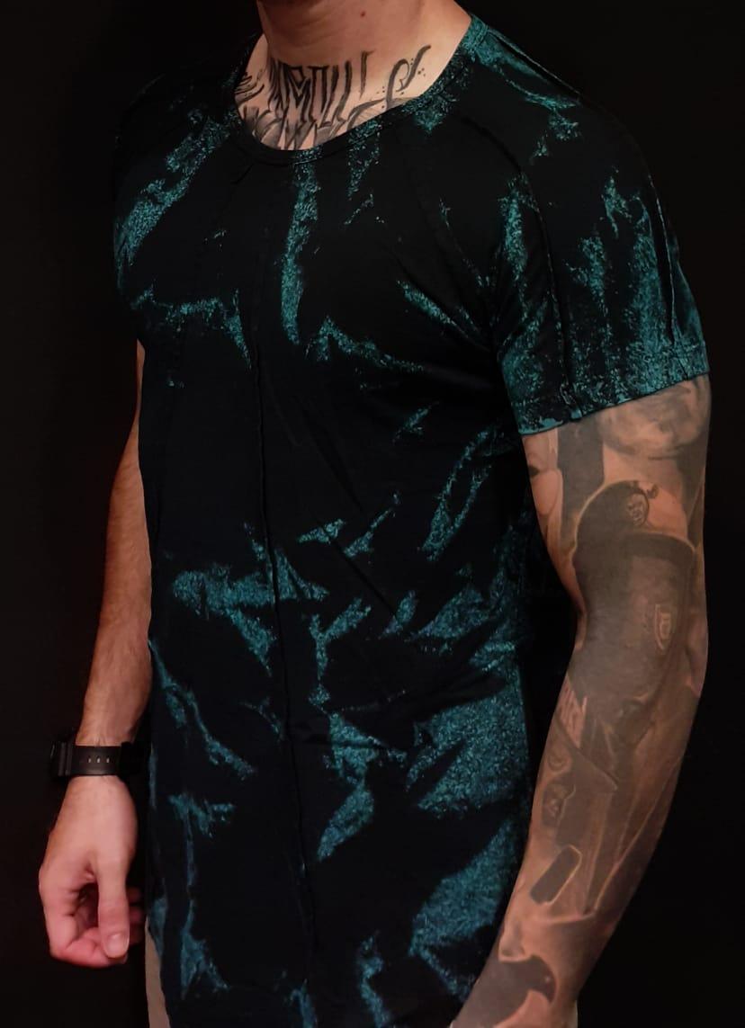 Camiseta King Joy Rock in Roll Blue  - Harpia Moda - Moda Masculina & Acessórios