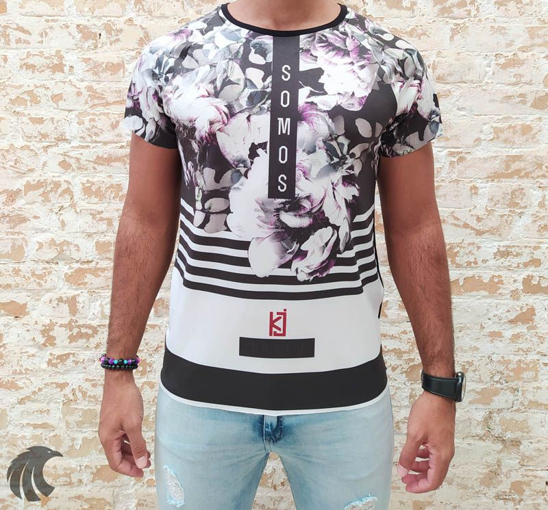 Camiseta King Joy Somos  - Harpia Moda - Moda Masculina & Acessórios