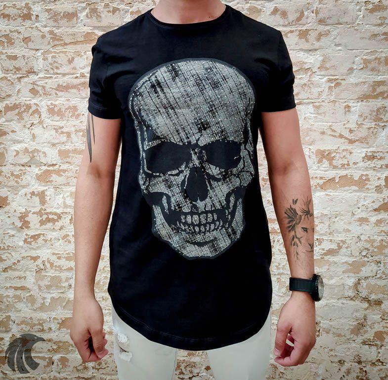 Camiseta King Joy Rage Skull  - Harpia Moda - Moda Masculina & Acessórios