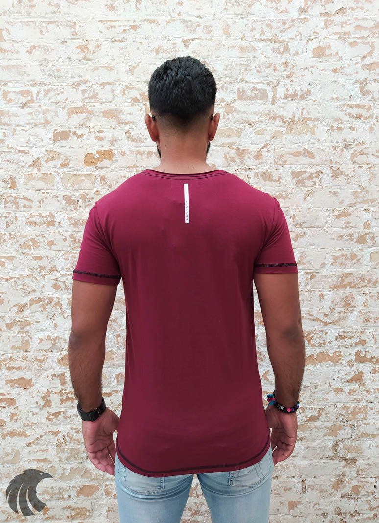 Camiseta Long Riviera Broken Spirit  - Harpia Moda - Moda Masculina & Acessórios
