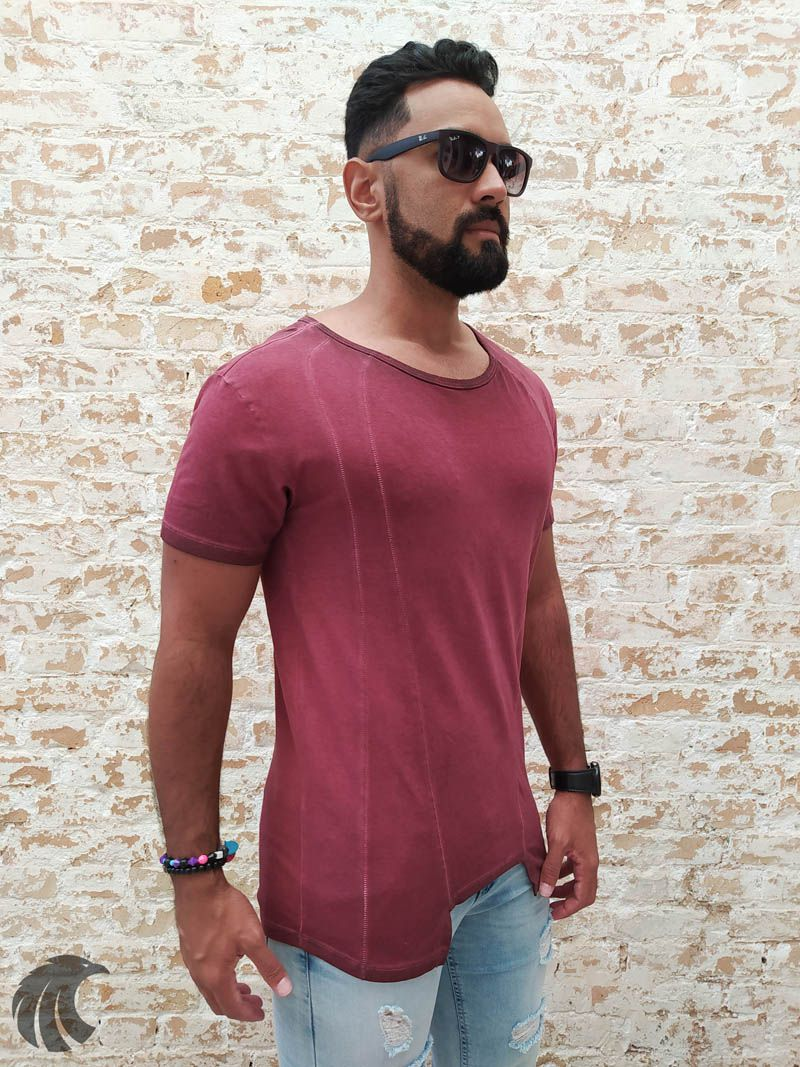 Camiseta Pargan Red Line  - Harpia Moda - Moda Masculina & Acessórios
