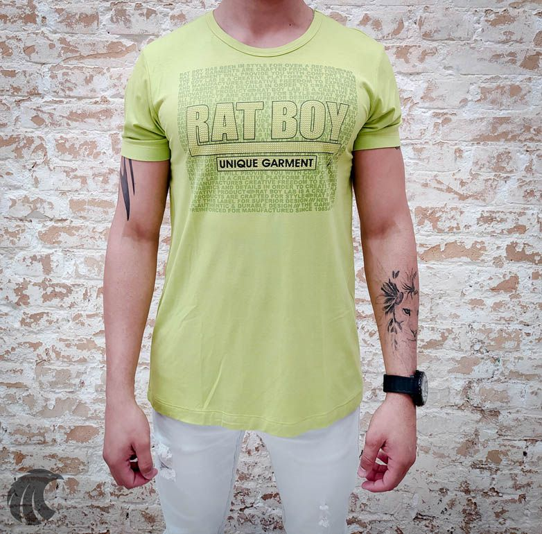 Camiseta Rat Boy Unique Garment  - Harpia Moda - Moda Masculina & Acessórios