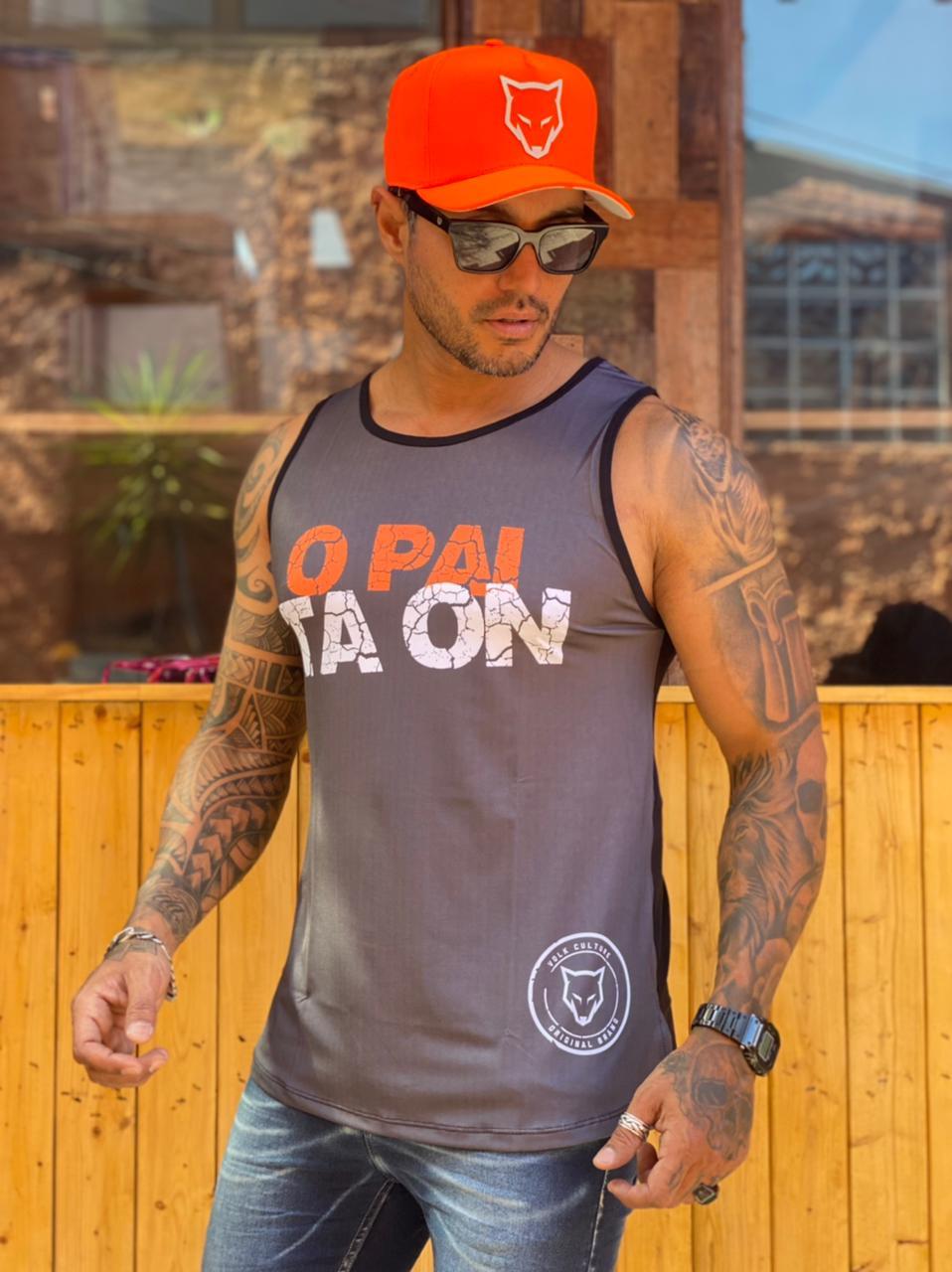 Camiseta Regata Volk Culture Cinza Pai ta On  - Harpia Moda - Moda Masculina & Acessórios