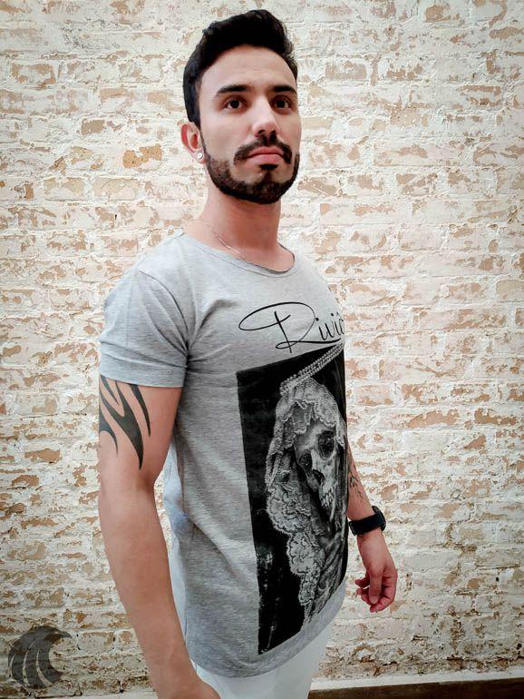 Camiseta Riviera Face of Death  - Harpia Moda - Moda Masculina & Acessórios