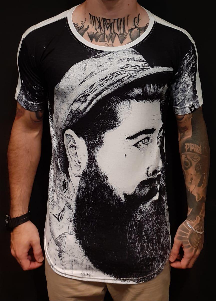 Camiseta Riviera Long Bearded Man  - Harpia Moda - Moda Masculina & Acessórios