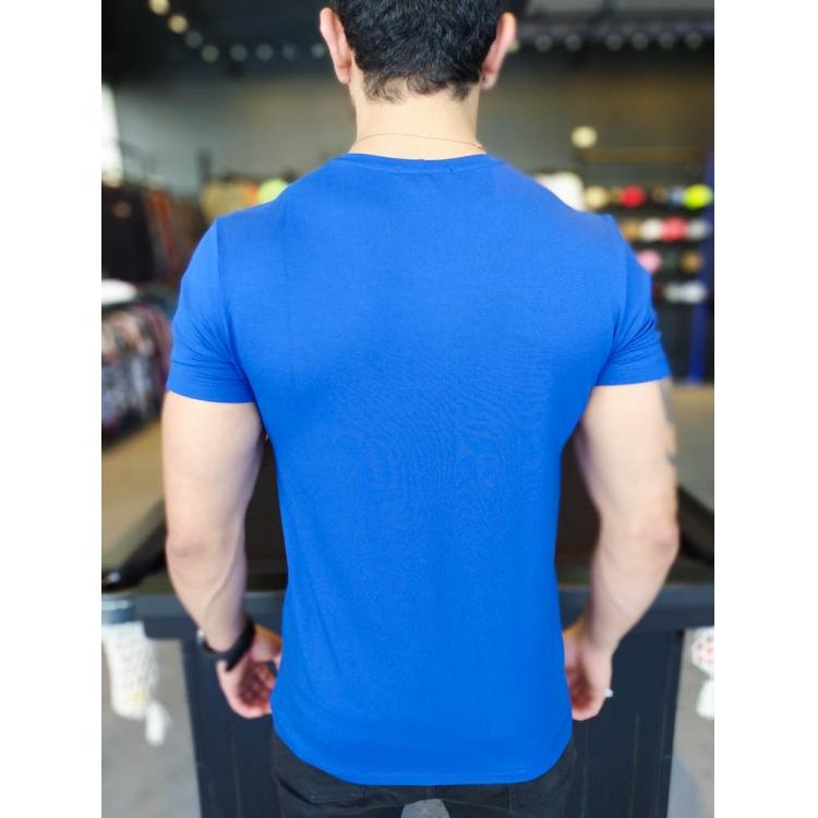 Camiseta Starpolis Azul Easy Coqueiros  - Harpia Moda - Moda Masculina & Acessórios