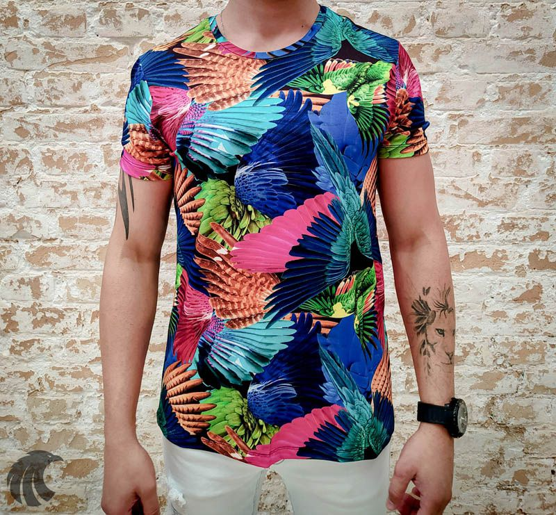 Camiseta Starpolis Bird Wings  - Harpia Moda - Moda Masculina & Acessórios