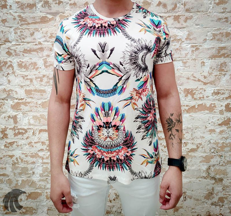 Camiseta Starpolis Indian Style  - Harpia Moda - Moda Masculina & Acessórios