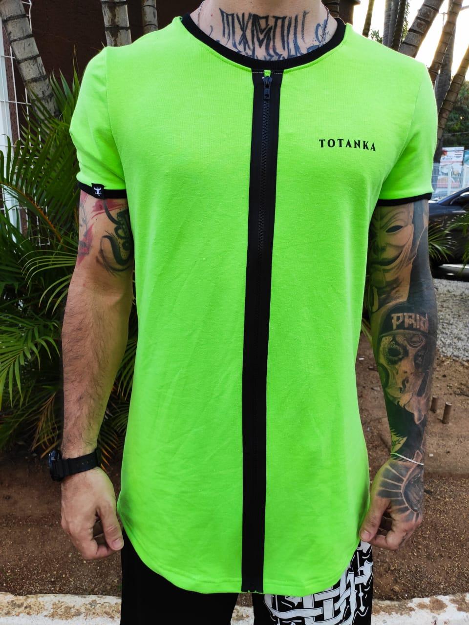 Camiseta Totanka Green Neon  - Harpia Moda - Moda Masculina & Acessórios
