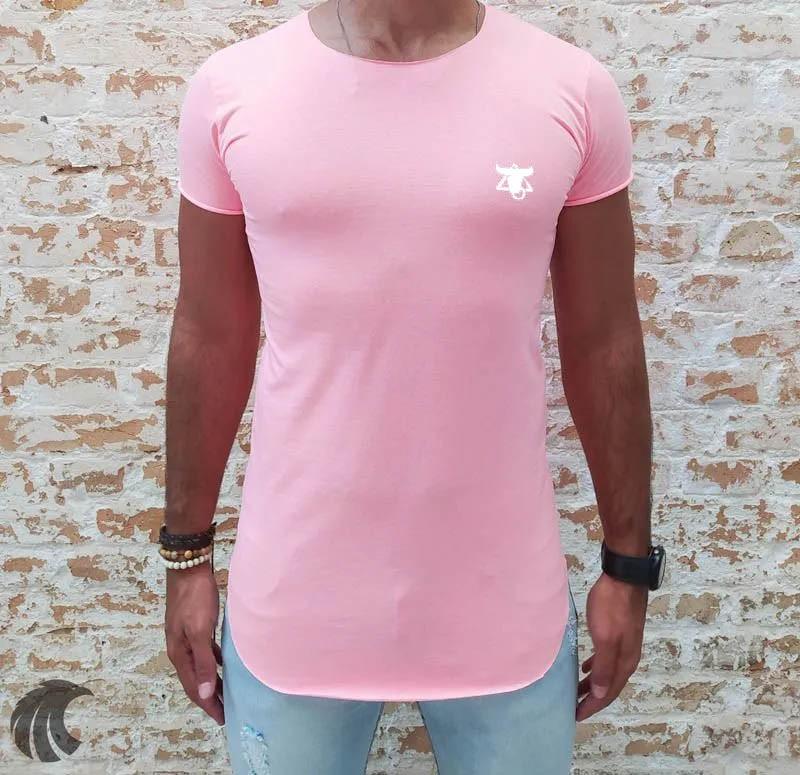 Camiseta Totanka Rose Long Line  - Harpia Moda - Moda Masculina & Acessórios