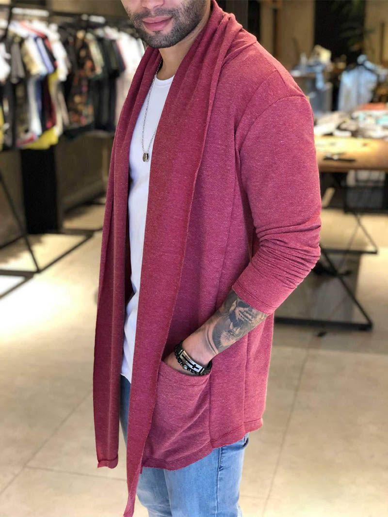 Cardigan M Artt Vermelho Prime  - Harpia Moda - Moda Masculina & Acessórios