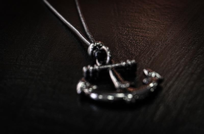 Colar Anchor Symbol  - Harpia Moda - Moda Masculina & Acessórios