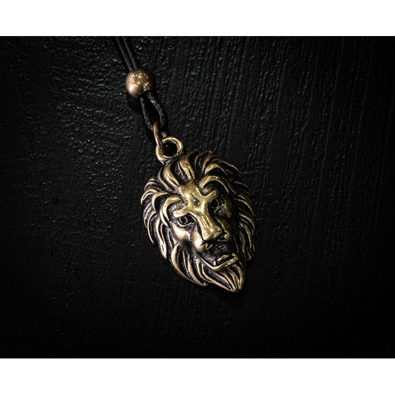 Colar Golden Lion  - Harpia Moda - Moda Masculina & Acessórios