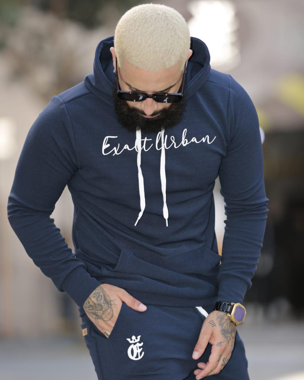Conjunto Exalt Urban Azul Version Deluxe  - Harpia Moda - Moda Masculina & Acessórios